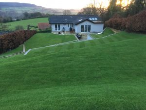 Turfing project in Osmotherley